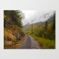 The Ride To Dusk Canvas Print