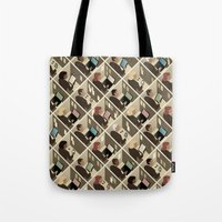 Cubicles Tote Bag