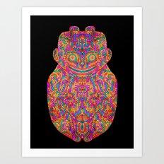 Self Transforming Spirit Guide Art Print