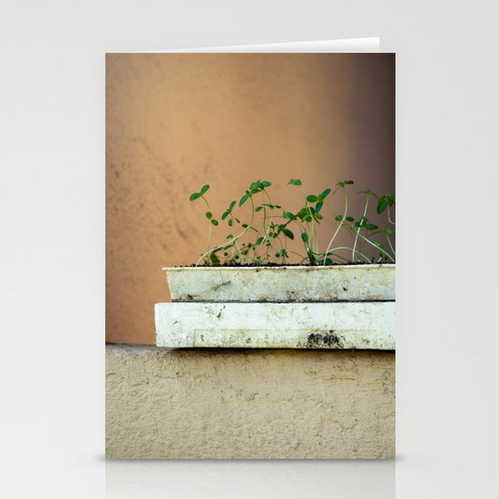 Seedlings Stationery Card
