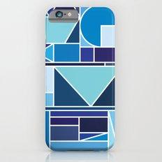 Kaku Blue iPhone 6s Slim Case