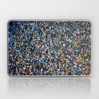 Blue Pebble Texture Laptop & iPad Skin