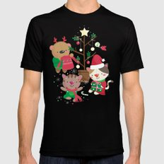 Holiday Crew Mens Fitted Tee Black SMALL