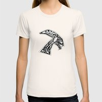Celtic Xenomorph Womens Fitted Tee Natural SMALL