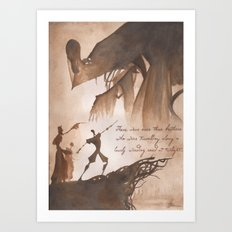 The Tale of Three Brothers Art Print