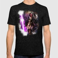 Darth Revan Mens Fitted Tee Tri-Black SMALL