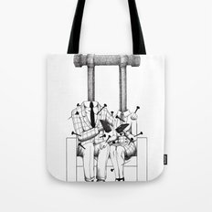 Love (one hand to caress and the other one to hurt) Tote Bag