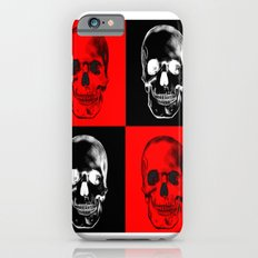 Red/Black SKULL iPhone 6s Slim Case