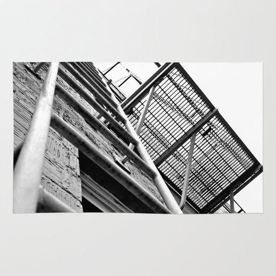 Alley balcony Area & Throw Rug