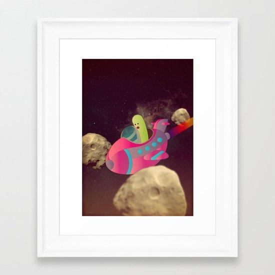 u l t r a c o r p o Framed Art Print