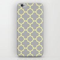 MOROCCAN {YELLOW/GRAY}  iPhone & iPod Skin