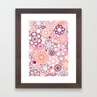 BOLD & BEAUTIFUL girlie Framed Art Print