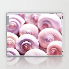 Dream of last summer I - Snail Shells in pink Laptop & iPad Skin
