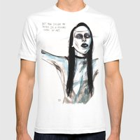 Now i'm not an artist / manson Mens Fitted Tee White SMALL