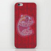 Aboriginal Bear iPhone & iPod Skin