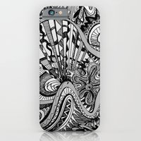 iPhone & iPod Case featuring White Knuckled Scream by brenda erickson