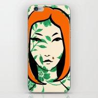 Ladybug Girl iPhone & iPod Skin
