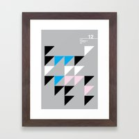 12_wingdings3_7a Framed Art Print