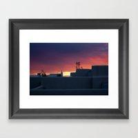 NM Sunset 1 Framed Art Print