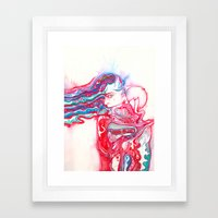Don't be afraid to fade Framed Art Print
