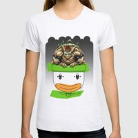 King Koopa & His Clown Car Womens Fitted Tee Ash Grey SMALL