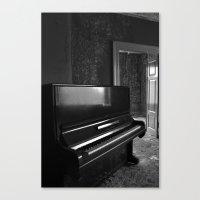 Grand Old Piano Canvas Print