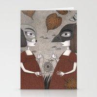 Ana And Eva (An All Hall… Stationery Cards
