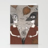 Ana And Eva (An All Hall… Stationery Cards