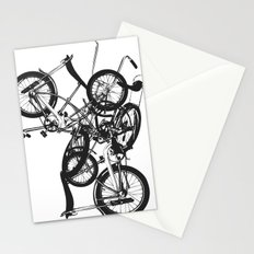 Bike Chaos Stationery Cards