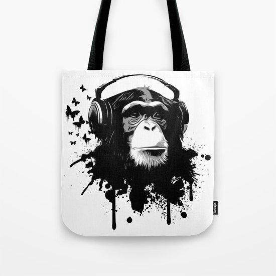 Monkey Business - White Tote Bag