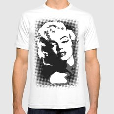 Marilyn SMALL Mens Fitted Tee White
