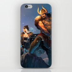 League of Legends-Tryndamere and Ashe iPhone & iPod Skin