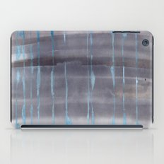Grey Rain iPad Case