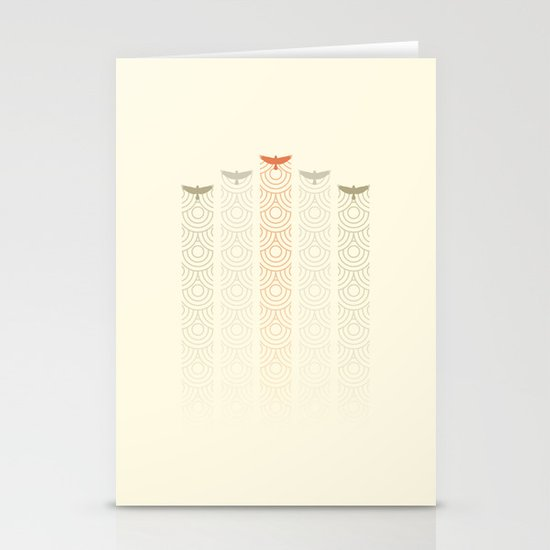 Aerial Display Team Stationery Card