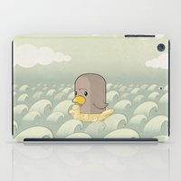 Chick Across The Sea iPad Case