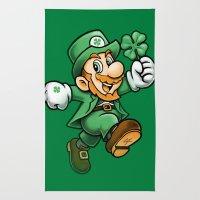 Lucky Mario Rug
