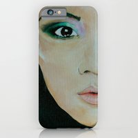 iPhone & iPod Case featuring THE EURASIAN GIRL by Maud Villers