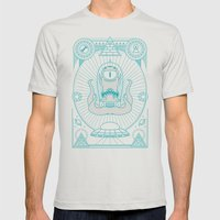 Kang The Liberator  Mens Fitted Tee Silver SMALL