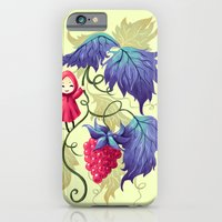 iPhone Cases featuring Raspberry by Freeminds