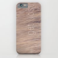 iPhone & iPod Case featuring get lost by Kristen Mintz