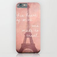 iPhone & iPod Case featuring This Heart Was Made to Travel by Anna Delores