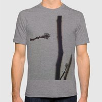 Distance Mens Fitted Tee Athletic Grey SMALL