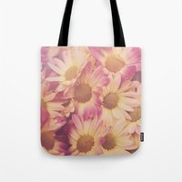 Sun Drenched Daisies Tote Bag