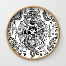 Ad Mortumn Wall Clock