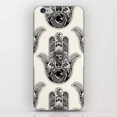 Hamsa Hand Pug iPhone & iPod Skin