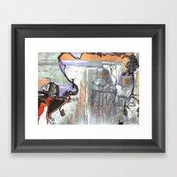 Space Voyage Framed Art Print