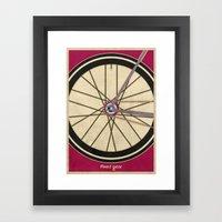 Single Speed Bicycle Framed Art Print