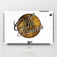 No Barriers iPad Case