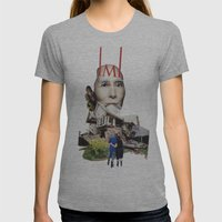 They grow so fast Womens Fitted Tee Athletic Grey SMALL