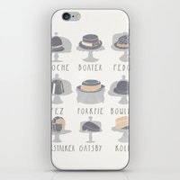 EAT MY HAT iPhone & iPod Skin